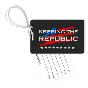 Keeping The Republic Bag Tag & Gear Tag Set From Envisionaries