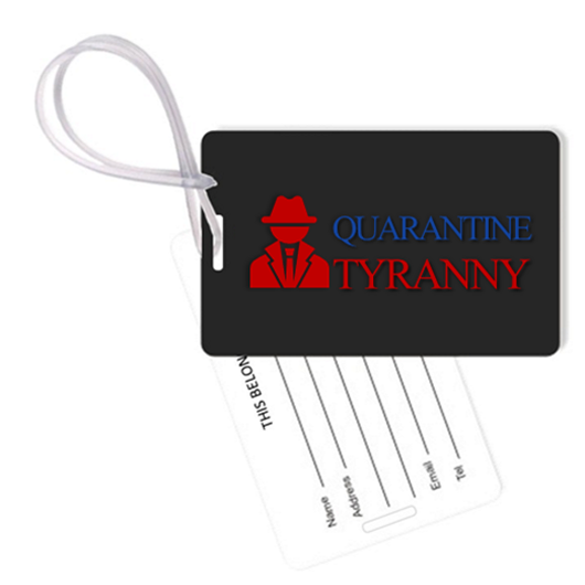Quarantine Tyranny Bag Tag & Gear Tag Set From Envisionaries